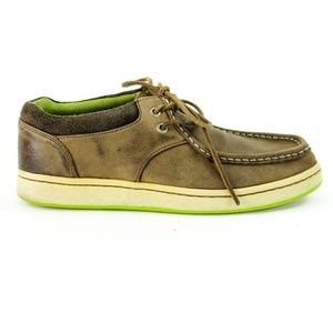 Sperry Top Sider Cup Boat Shoes Leather Slip On